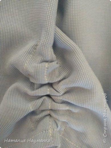 Одним словом: экспериментирую. Хламное платюшко создано, как намекает его название, из футболки и рубашки сына. Последнее время неизменным источником моего вдохновения является АлиЭкспресс. Платье по мотивам довольно авангардного взрослого наряда. А у меня детское, лет на 8. фото 5