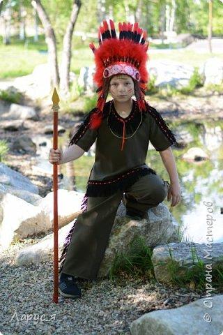 Самый индейски индеец. Мой старший сын, Александр - Красный Орел фото 2