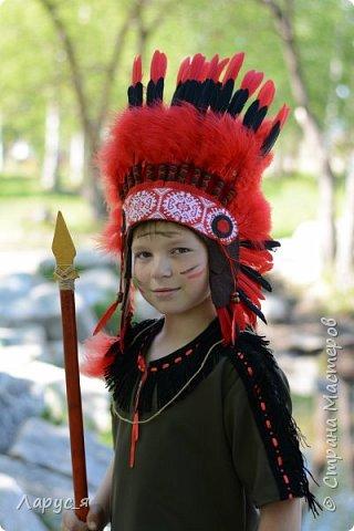 Самый индейски индеец. Мой старший сын, Александр - Красный Орел фото 1