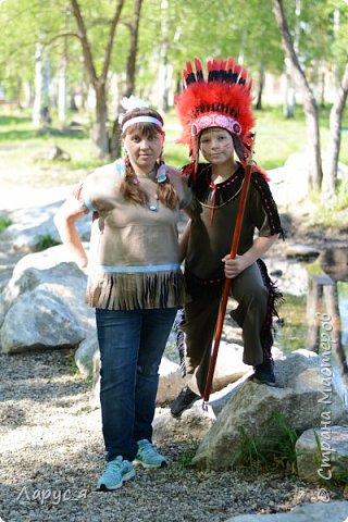 Самый индейски индеец. Мой старший сын, Александр - Красный Орел фото 3