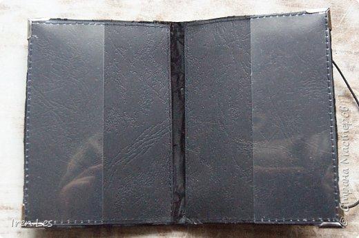 Привет всем жителям Страны и ее гостям. Продолжаю показывать текстильные обложки на паспорт. Эти две обложки сделаны на заказ. Попросили сделать две одинаковых обложки. Полностью черные и именно с такими совами. фото 2