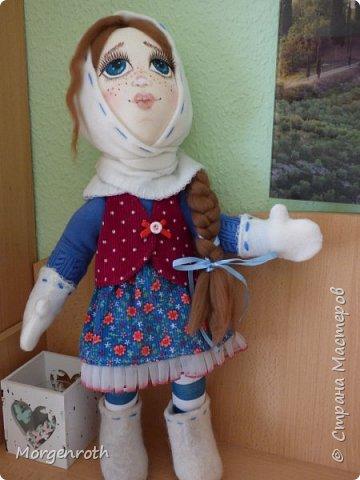 Куклу шила в подарок на день рождения подруги. фото 2