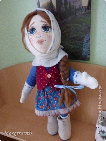 Куклу шила в подарок на день рождения подруги. фото 3