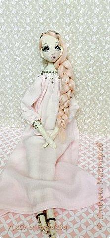 Интерьерная текстильная кукла. фото 1