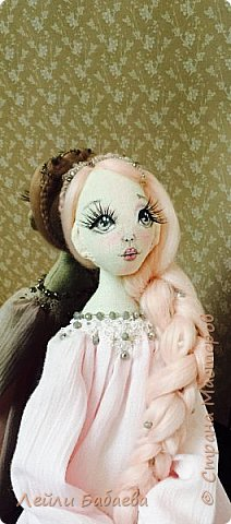 Интерьерная текстильная кукла. фото 2