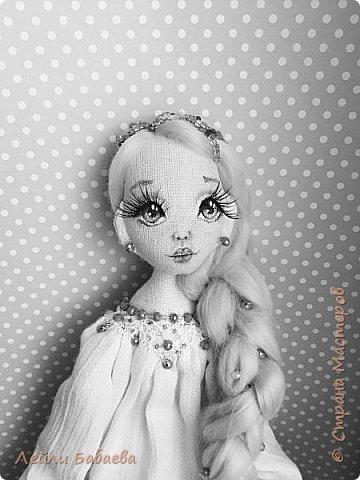 Интерьерная текстильная кукла. фото 3