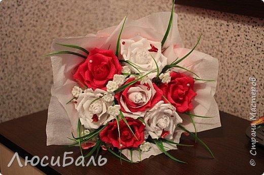 Конфетный тортик для девочки. фото 2