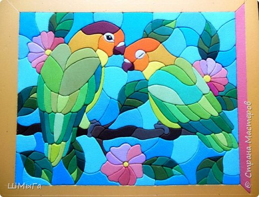 Еще одна картина по работе художника векторной графики Натальи Загорий. фото 13