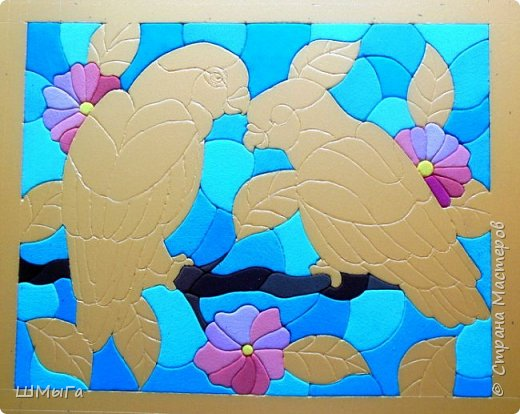 Еще одна картина по работе художника векторной графики Натальи Загорий. фото 3