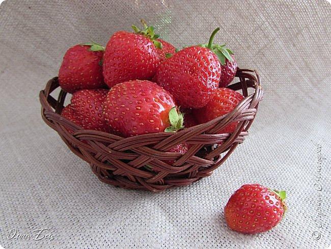 Доброго дня  Страна Мастеров!  Здравствуй, лето-летечко, Ягодное времечко!  Вот и поспели первые летние ягоды садовой виктории, спелой, сладкой, ароматной! фото 12