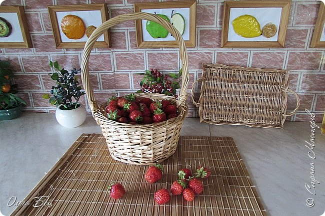 Доброго дня  Страна Мастеров!  Здравствуй, лето-летечко, Ягодное времечко!  Вот и поспели первые летние ягоды садовой виктории, спелой, сладкой, ароматной! фото 30