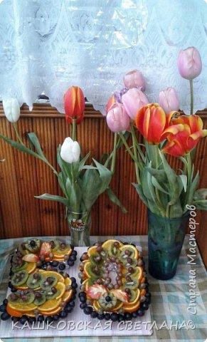 Давно ничем не делилась, вот за весну делала такие штучки для знакомых. Приятного просмотра. фото 3