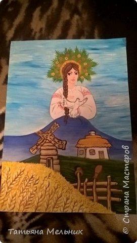 Картины гуашью. фото 1