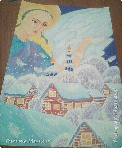Картины гуашью. фото 3