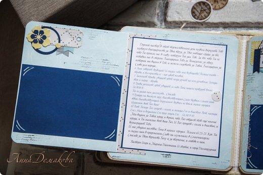 Второй альбом на юбилей пастору. Историю его создания и первую часть можно посмотреть по ссылочке указанной в конце записи.  Альбом можно хранить в коробке. Удобно и практично.  фото 20