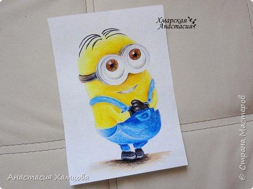 рисунки цветными карандашами фото 1