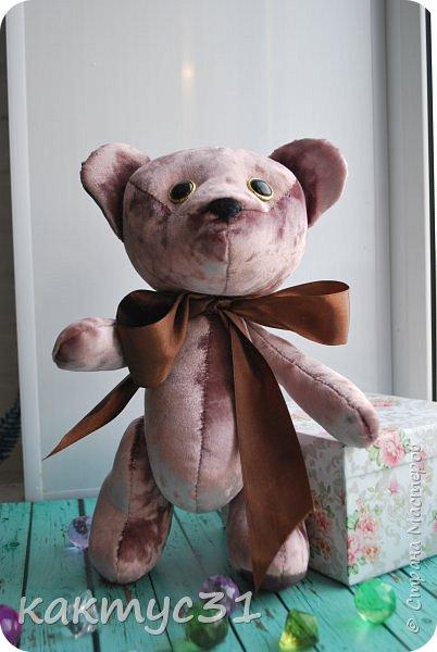 Всем привет, родился у нас Михаил. Подарочный вариант медведя.  фото 3