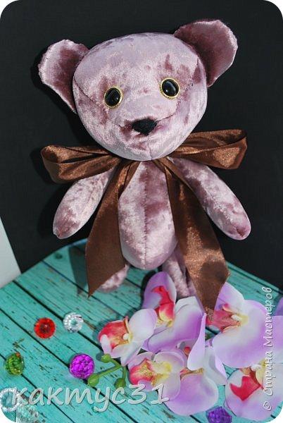 Всем привет, родился у нас Михаил. Подарочный вариант медведя.  фото 1