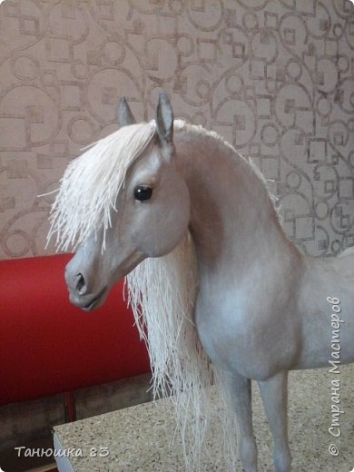 Привет всем.  Этот Конь очень большой па моим меркам,делаю для подруги,ждет она его аж сентября того года,но он к ней не торопится все время палки в колеса втыкает. фото 15
