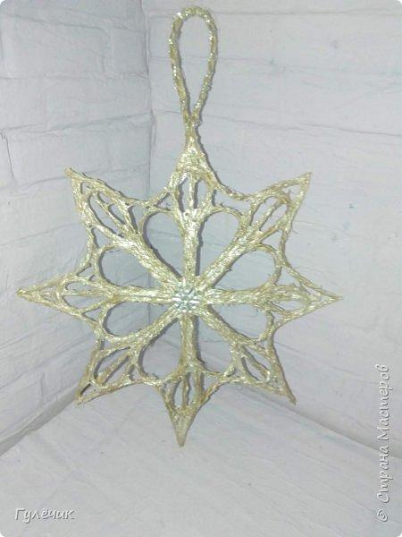 Снежинки по МК Валерии,обожаю эти работы)Легко и непринуждённо фото 1