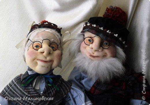 Дед и баба шотландские фото 1