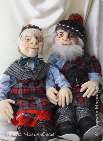 Дед и баба шотландские фото 3