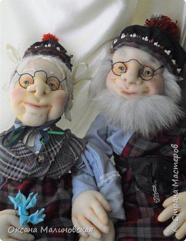Дед и баба шотландские фото 2