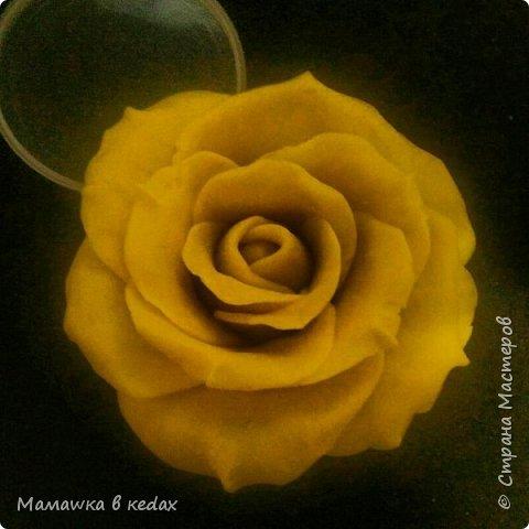 Мой первый опыт лепки из теста для лепки. Сделала вот такую розу, хочу ее потом силиконом залить и будет у меня мыло-роза)))))
