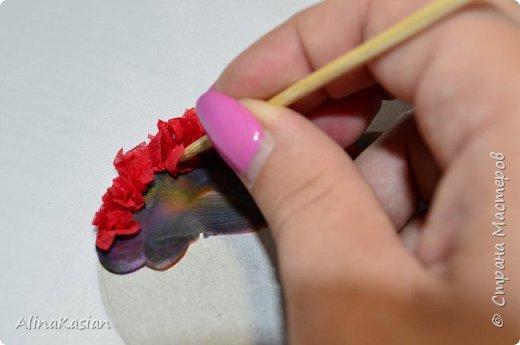 Валентинка в стиле торцевание фото 5