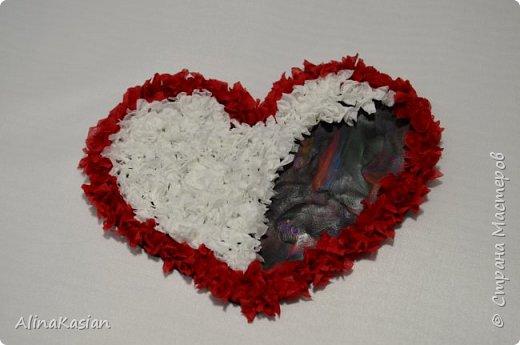 Валентинка в стиле торцевание фото 6