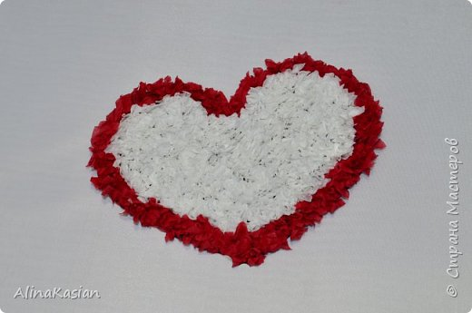 Валентинка в стиле торцевание фото 7