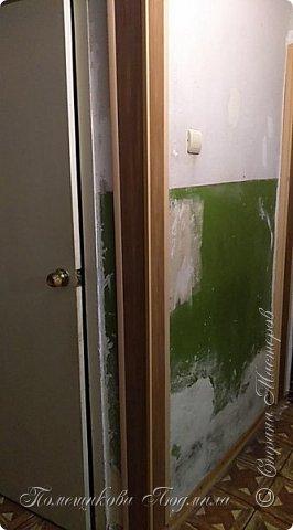 Здравствуйте, уважаемые жители Страны Мастеров!  Сегодня я хочу поделиться нашим косметическим ремонтом в коридоре нашей съёмной квартиры. А пришлось это делать из-за наших любимых котеек Тошика и Смузика. фото 17