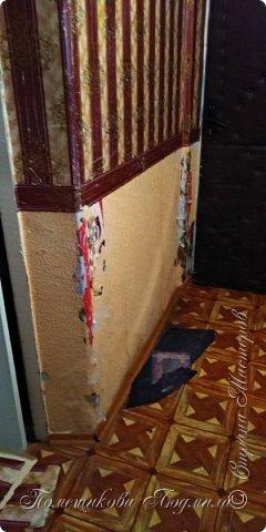 Здравствуйте, уважаемые жители Страны Мастеров!  Сегодня я хочу поделиться нашим косметическим ремонтом в коридоре нашей съёмной квартиры. А пришлось это делать из-за наших любимых котеек Тошика и Смузика. фото 3
