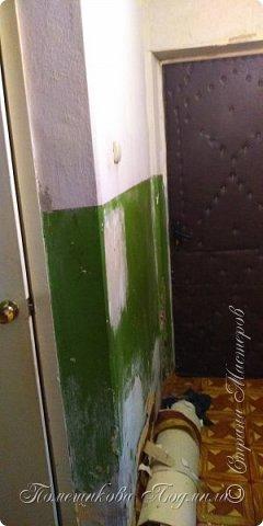 Здравствуйте, уважаемые жители Страны Мастеров!  Сегодня я хочу поделиться нашим косметическим ремонтом в коридоре нашей съёмной квартиры. А пришлось это делать из-за наших любимых котеек Тошика и Смузика. фото 9