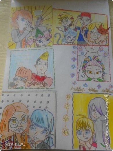 Вот решила показать рисунки моей младшей дочки. И пусть они не профессиональные, но нарисованы с любовью и от чистого сердца.  Прошу не судите строго, это ее любимое занятие. Здесь изображены ее любимые герои мультфильма. И конечно ее любимая лиса!!! фото 9