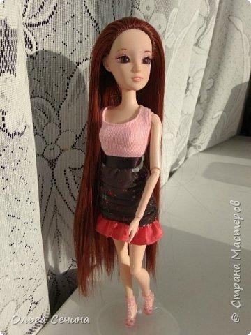 Первый раз перепрошила куклу! фото 7