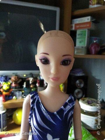 Первый раз перепрошила куклу! фото 4