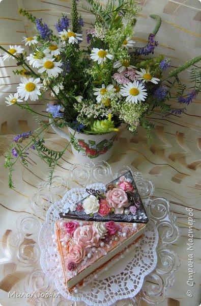 Всем доброго летнего дня! Хорошего настроения и бодрости духа! А я хочу показать новоиспеченные пирожные.   фото 1