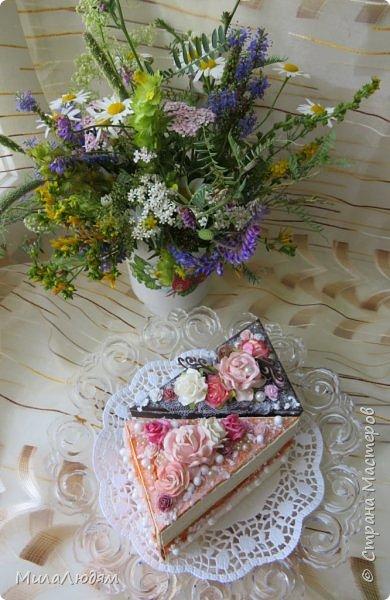 Всем доброго летнего дня! Хорошего настроения и бодрости духа! А я хочу показать новоиспеченные пирожные.   фото 61