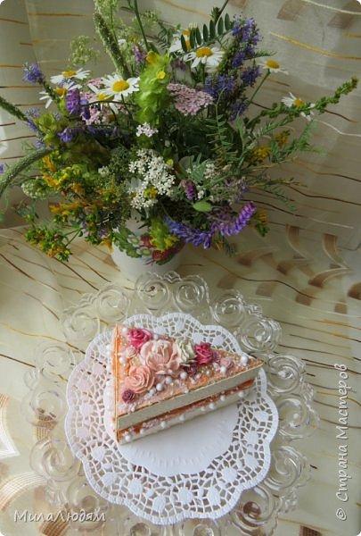 Всем доброго летнего дня! Хорошего настроения и бодрости духа! А я хочу показать новоиспеченные пирожные.   фото 7