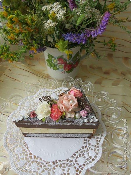 Всем доброго летнего дня! Хорошего настроения и бодрости духа! А я хочу показать новоиспеченные пирожные.   фото 32