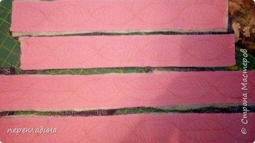 Изначально я взяла четыре куска вот такой ткани.  фото 3