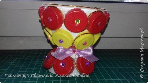 Всем  жителям  Страны Мастеров,Добрый вечер!!!    Сегодня я  предлагаю Вашему вниманию   вазочку   для мелочей. фото 8