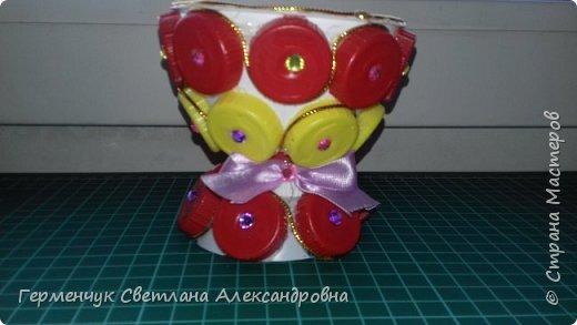 Всем  жителям  Страны Мастеров,Добрый вечер!!!    Сегодня я  предлагаю Вашему вниманию   вазочку   для мелочей. фото 10