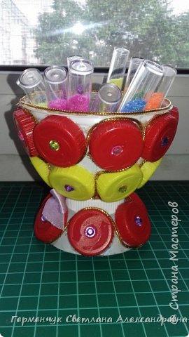 Всем  жителям  Страны Мастеров,Добрый вечер!!!    Сегодня я  предлагаю Вашему вниманию   вазочку   для мелочей. фото 13