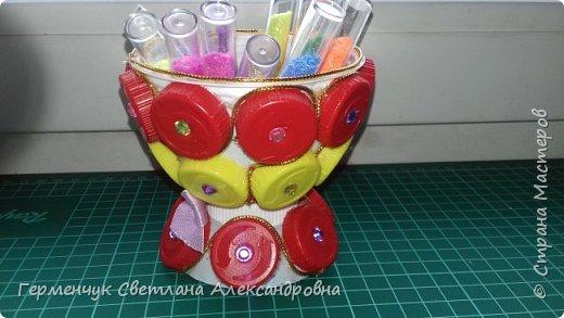 Всем  жителям  Страны Мастеров,Добрый вечер!!!    Сегодня я  предлагаю Вашему вниманию   вазочку   для мелочей. фото 15