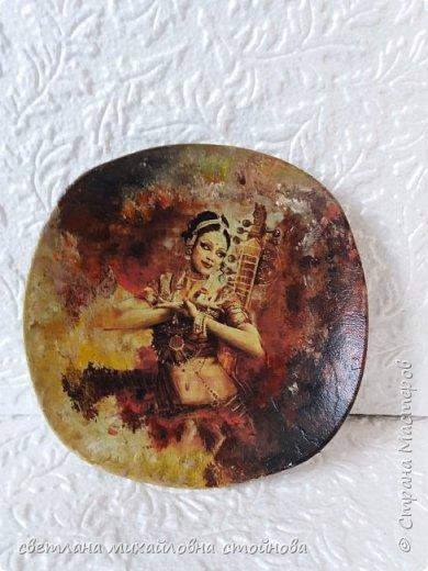 """Здравствуйте уважаемые жители Страны Мастеров...я опять с тарелочками...просто нравится мне с ними заниматься... """"Деревенские мотивы""""распечатка подрисовка... фото 4"""