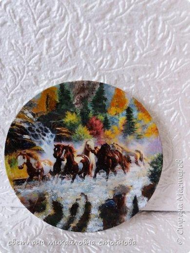 """Здравствуйте уважаемые жители Страны Мастеров...я опять с тарелочками...просто нравится мне с ними заниматься... """"Деревенские мотивы""""распечатка подрисовка... фото 3"""