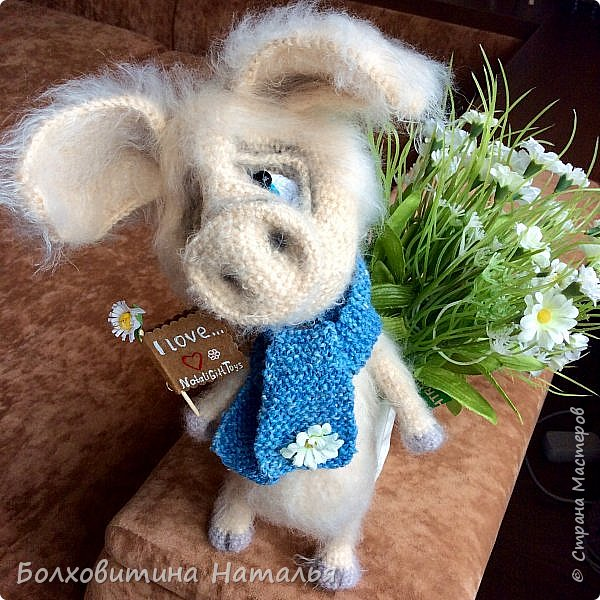 Дружище Свин ( связан по МК сайта Амигуруми) фото 12