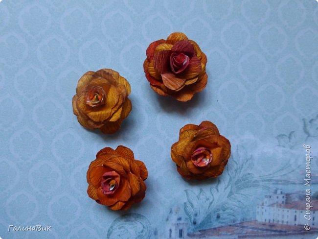 Всем добрый вечер! Предлагаю посмотреть коробочки для сладостей и самодельные цветы. Ниже привожу мини-МК таких цветов. фото 28